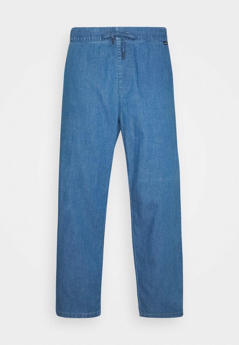 Afends - COUCH SURFER PANT - Kalhoty - washed indigo