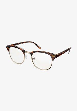 CAIRO BLUE LIGHT GLASSES - Sluneční brýle - tortoise