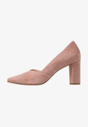 Classic heels - dark rose