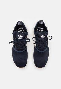 adidas Originals - NMD_R1 BOOST SHOES - Tenisky - collegiate navy/footwear white - 5