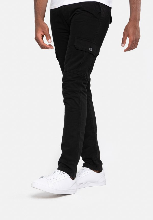 Threadbare BojÓwki - black/czarny Odzież Męska OSCD