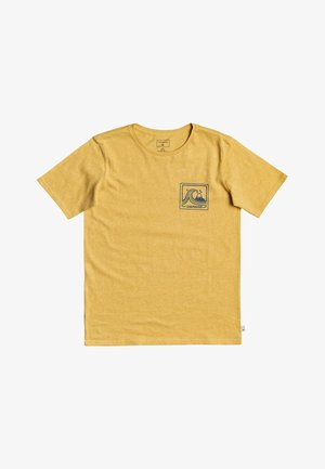 HIGHWAY VAGABOND - T-shirt print - rattan heather