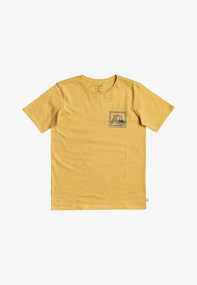 HIGHWAY VAGABOND - Print T-shirt - rattan heather