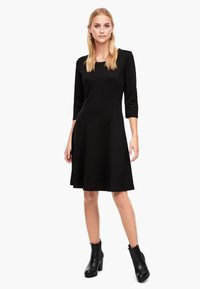 s.Oliver - Jersey dress - black - 1