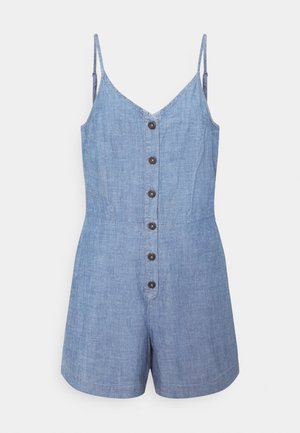 VMAKELA CHAMBRAY STRAP PLAYSUIT - Mono - medium blue denim