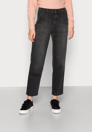 BLACK PANT - Jeans Relaxed Fit - jet black