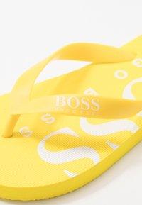 BOSS Kidswear - Pool shoes - yellow - 5