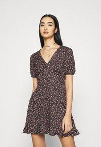 Miss Selfridge - DRESS - Day dress - black - 0