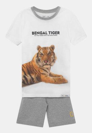 BOY NATIONAL GEOGRAPHIC TIGER - Pyjama - optic white