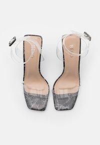 BEBO - VERITY - High heeled sandals - black - 5