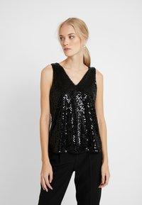Vero Moda Tall - VMDAISY - Blouse - black/sequins - 0