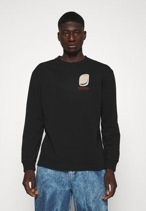 LONGSLEEVE ARTWORK TEE - Top sdlouhým rukávem - black