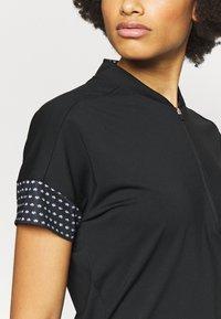 adidas Golf - T-shirt con stampa - black - 3