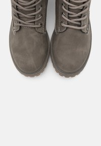 TOM TAILOR - Lace-up ankle boots - mud - 5