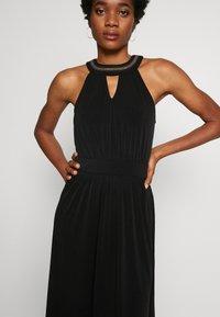 Vila - VIROSA PEARL KEYWHOLE DRESS - Vestido de cóctel - black - 3