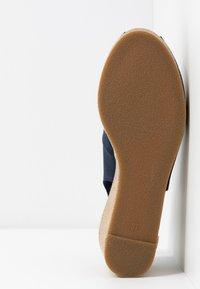U.S. Polo Assn. - VICTORIA - Platåsandaler - dark blue - 6