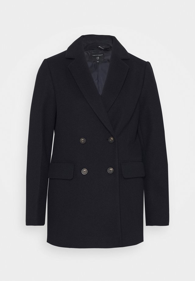 DOUBLE BREASTED COAT - Short coat - navy