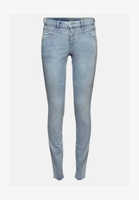 Esprit - Jeans Skinny Fit - blue bleached - 8