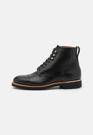 KENTON CAP TOE BOOT - Lace-up ankle boots - black