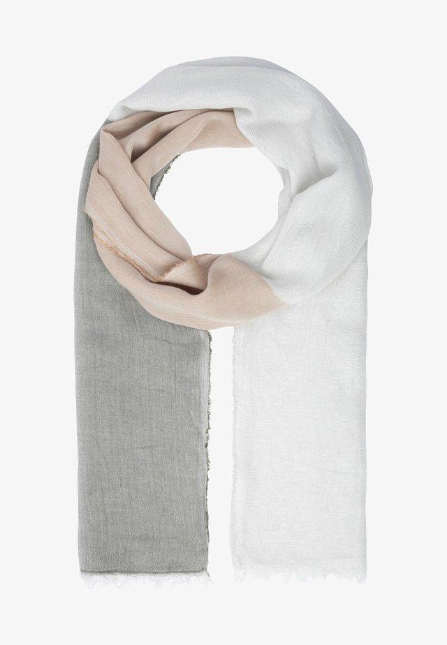 MIT GLITZER - Sjaal - beige-multicolor