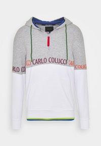 Carlo Colucci - HOODIE - Hoodie - white - 0