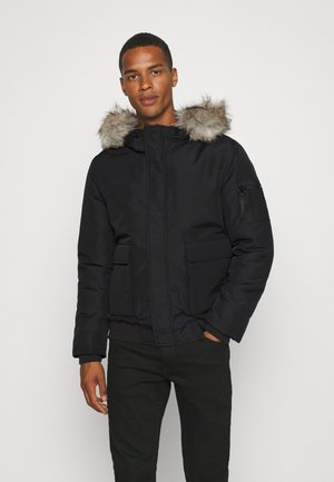 ONSHAWK HOOD - Winter jacket - black