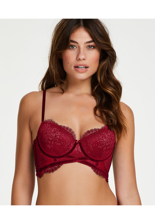 Push-up BH - rumba red