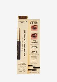 Revolution PRO - ULTIMATE BROW GEL - Eyebrow gel - dark brown - 1