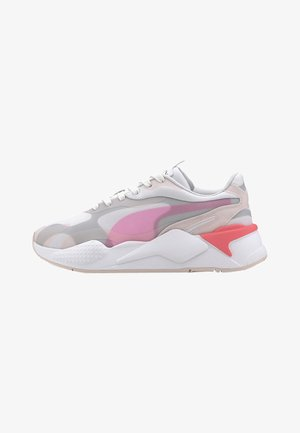Trainers - mottled light pink/grey