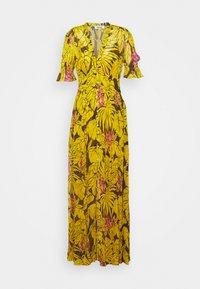 Diane von Furstenberg - ERICA LONG - Maksimekko - palm large yellow - 0