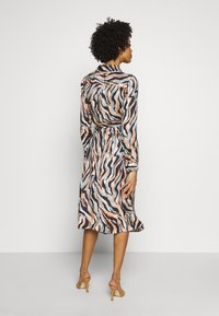 Pedro del Hierro - PRINTED DRESS WITH BELT - Day dress - blue - 2
