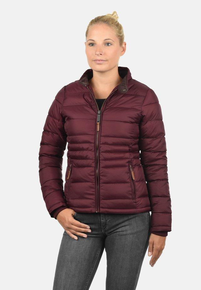 CORA - Winter jacket - zinfandel