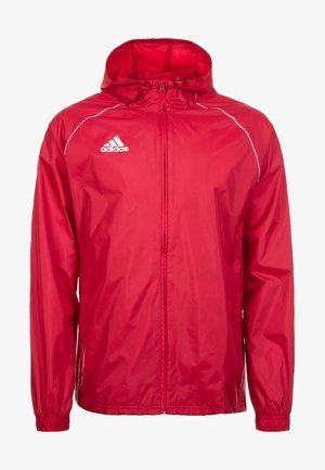 CORE ELEVEN FOOTBALL JACKET - Hardshell jacket - red/white