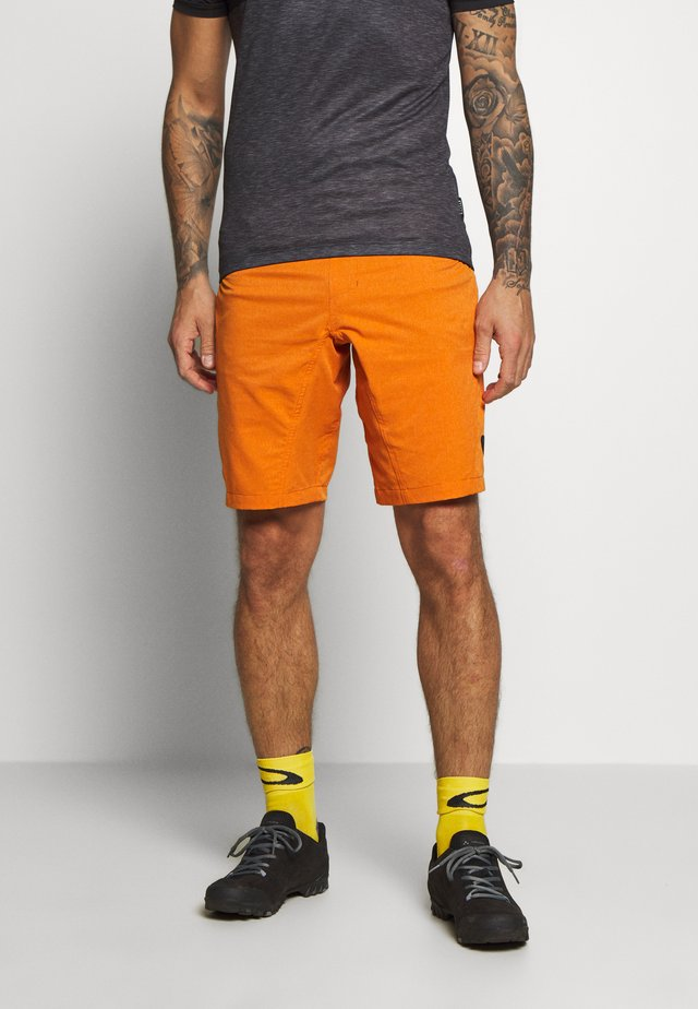BIKESHORT PAZE - Short de sport - riot orange