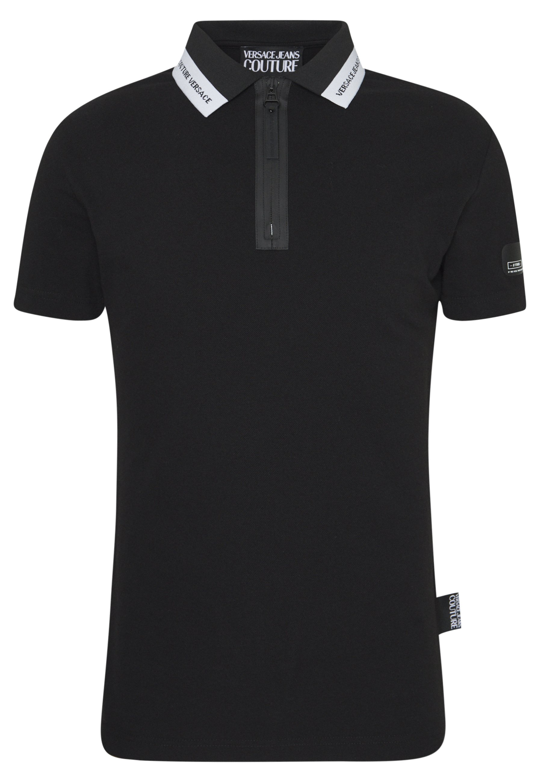 Versace Jeans Couture ZIP - Polo - black