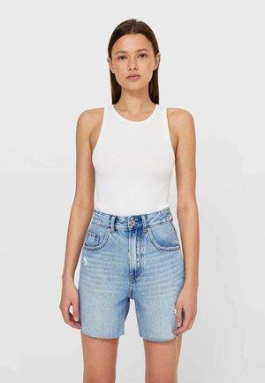 Jeans Short / cowboy shorts - blue denim