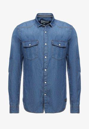 Košile - stone blue denim