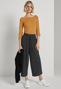 TOM TAILOR DENIM - CARMEN - Long sleeved top - orange yellow - 1