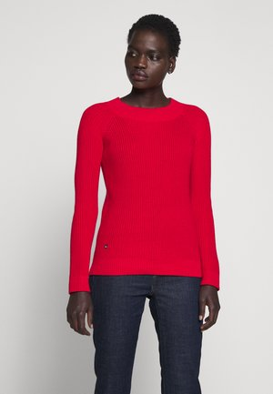 GASSED BRAC BALLET NECK - Strickpullover - orient red