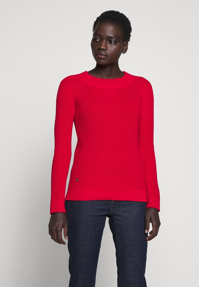 GASSED BRAC BALLET NECK - Pullover - orient red