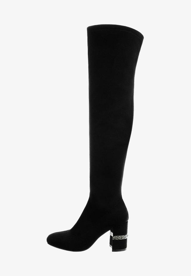ZAPPULLA - Botas de tacón - black