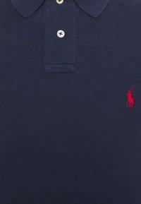 Polo Ralph Lauren - CUSTOM SLIM FIT MESH POLO - Polo shirt - spring navy heather - 6