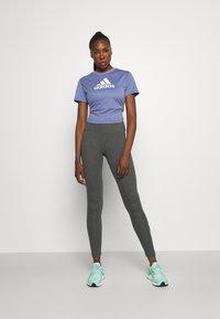 adidas Performance - Camiseta estampada - orbit violet/white - 1