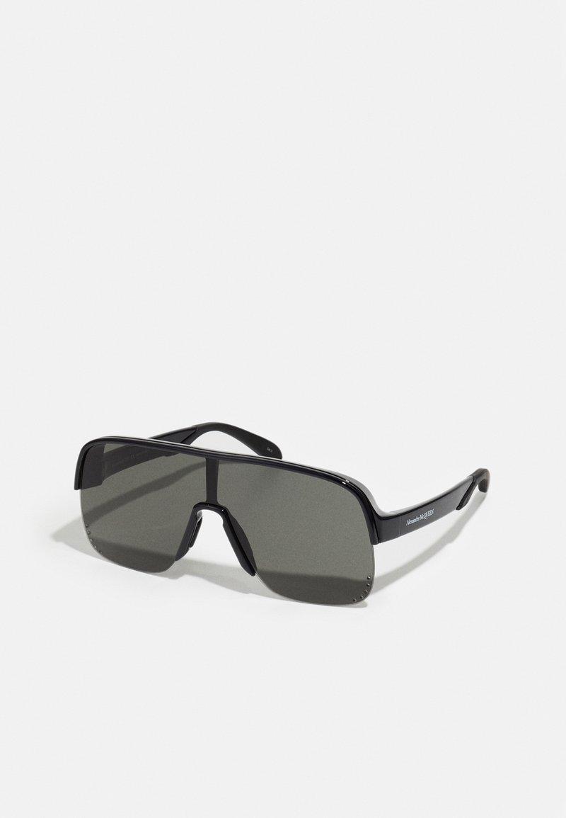 Alexander McQueen - UNISEX - Sluneční brýle - black/grey