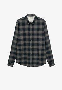 CLAUDE - Shirt - gris anthracite