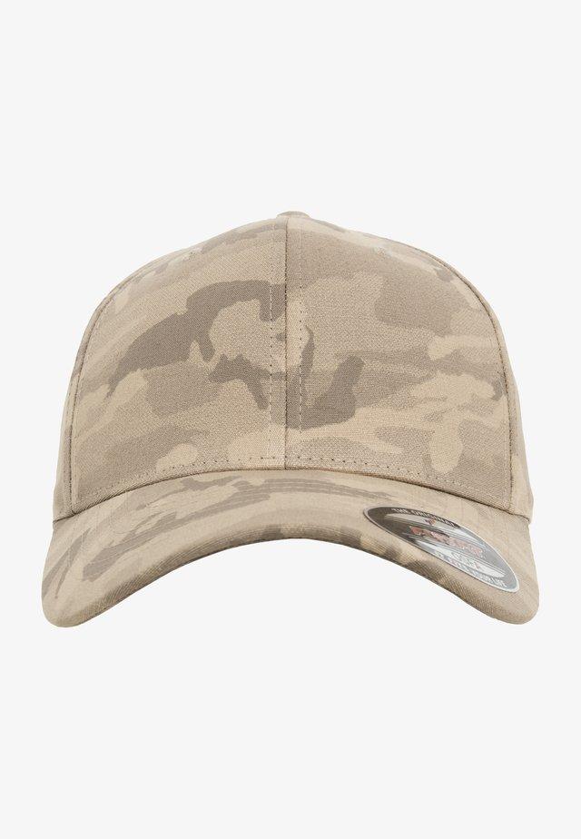 Caps - dark beige camo