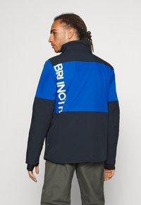 Brunotti - STROKERS MENS SNOWJACKET - Snowboard jacket - space blue - 3