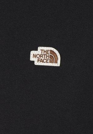 RECYCLED TEE - T-shirt - bas - black