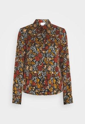 VIPADRIG - Button-down blouse - black