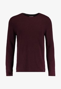 edc by Esprit - BASIC - Pullover - bordeaux - 4